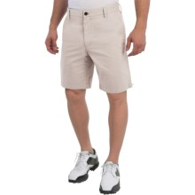 Wedge Club Fit Golf Shorts (For Men) in Stone - Closeouts