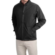 Wedge Golf Jacket (For Men) in Black - Closeouts