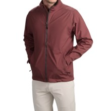 Wedge Golf Jacket (For Men) in Burgandy - Closeouts