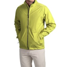 Wedge Golf Jacket (For Men) in Neon Green - Closeouts