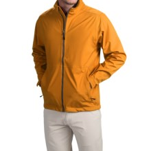 Wedge Golf Jacket (For Men) in Orange - Closeouts