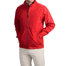 Wedge Golf Jacket (For Men) in Red - Closeouts