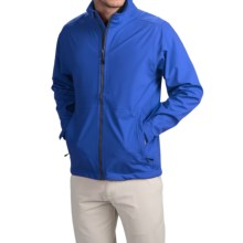 Wedge Golf Jacket (For Men) in Royal Blue - Closeouts