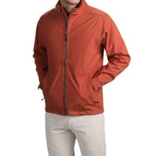 Wedge Golf Jacket (For Men) in Rust - Closeouts