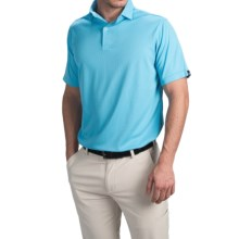 Wedge High-Performance Golf Polo Shirt - Short Sleeve (For Men) in Blue - Closeouts