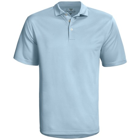 Wedge Sphere High-Performance Polo Shirt - Short Sleeve (For Men) in Arctic Blue