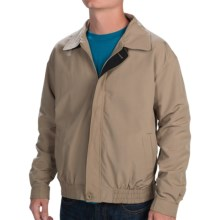 Weekendz Off Cotton Blend Jacket (For Men) in Khaki - Closeouts