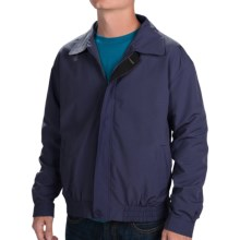 Weekendz Off Cotton Blend Jacket (For Men) in Navy - Closeouts