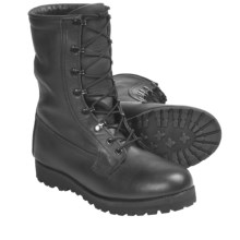 "Wellco 9"" ICW 3-Layer Duty Boots - Waterproof, Leather (For Men) in Black - Closeouts"