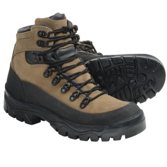 Wellco Aspen Gore-Tex® Hiker Duty Boots - Waterproof, Nubuck (For Men) in Brown