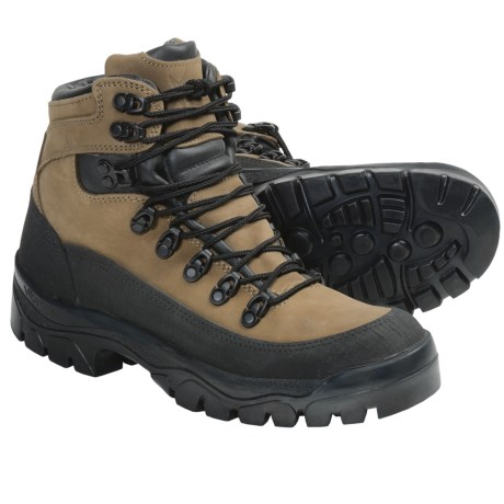 Wellco Gore-Tex® Hiker Duty Boots - Waterproof, Nubuck (For Men) in Brown