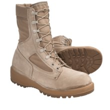 "Wellco Hot Weather Army Combat Boots - 8"" (For Men) in Tan - Closeouts"