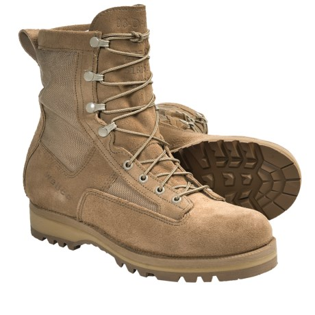 "Wellco Temperate Weather 3-Layer Sole Boots - Waterproof, 8"" (For Men) in Tan/Fleshout Leather"