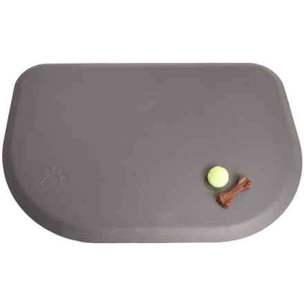 "Wellness Mats PetMat Orthopedic Rounded Pet Mat - Large, 45x30"" in Gray - 2nds"