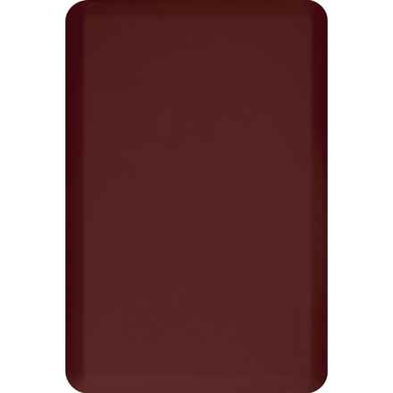WellnessMats Anti-Fatigue Kitchen Mat - 3x2' in Burgundy - 2nds