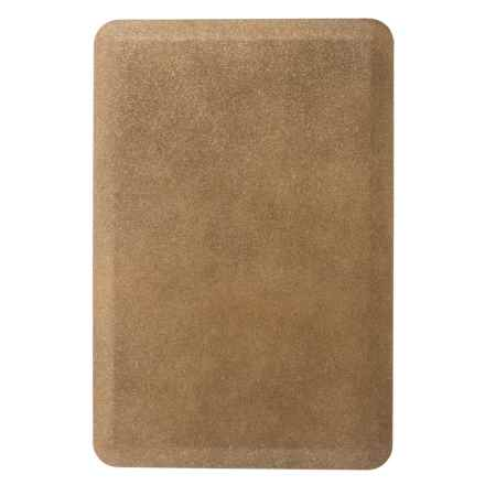 WellnessMats Anti-Fatigue Kitchen Mat - 3x2' in Granite Gold - 2nds