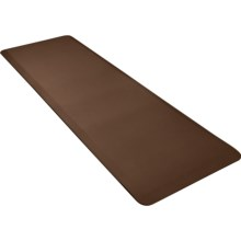 WellnessMats Anti-Fatigue Kitchen Mat - 6x2' in Brown - 2nds