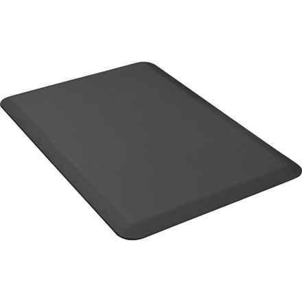 WellnessMats Original Smooth Anti-Fatigue Kitchen Mat - 3' x 2' in Black - 2nds