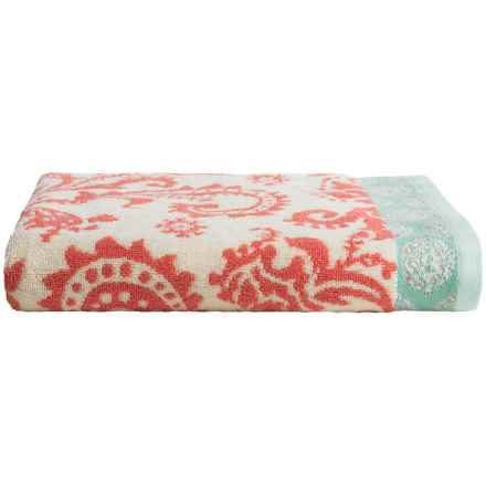 Welspun Amy Butler Cotton Bath Towel in Woodfern - Closeouts