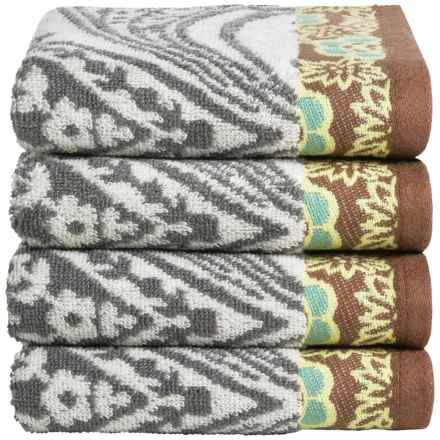Welspun Amy Butler Cotton Hand Towels - Set of 4 in Bucharest - Closeouts