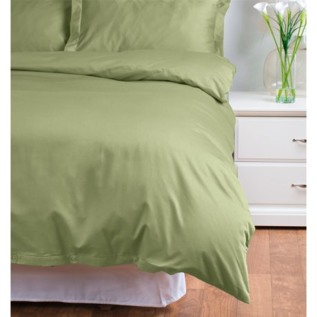 Welspun Cotton Sateen Duvet Set Queen, 500 TC