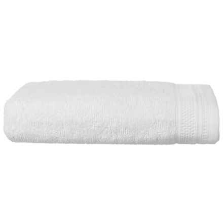 Welspun Crowning Touch Kushlon Bath Towel in White - Closeouts