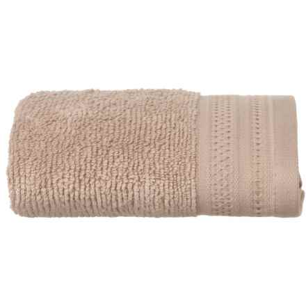 Welspun Crowning Touch Kushlon Hand Towel in Linen - Closeouts