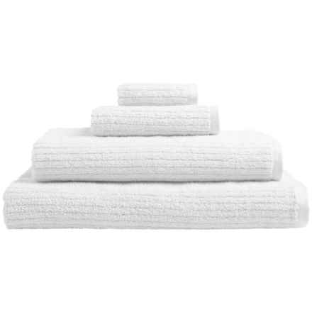 Welspun Dri Soft® Cotton Bath Towel in White - Closeouts