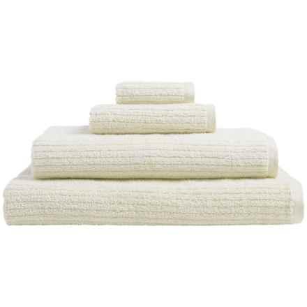 Welspun Dri Soft® Cotton Washcloth in Ecru - Closeouts