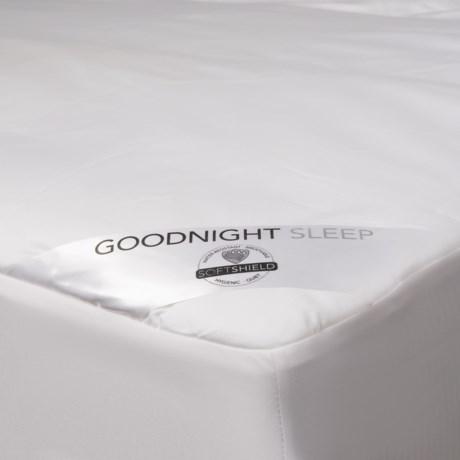 Welspun Good Night Sleep Mattress Pad - Cal King, 300 TC in White