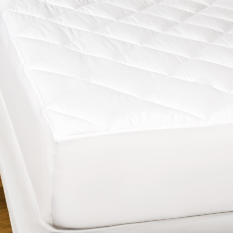 Welspun Good Night Sleep Mattress Pad - Cal King, 400 TC in White