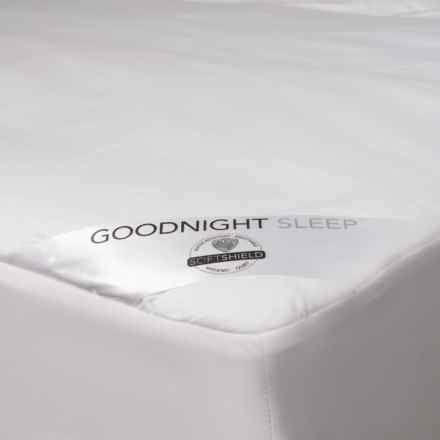 Welspun Good Night Sleep Mattress Pad - Queen, 300 TC in White - Closeouts