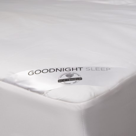 Welspun Good Night Sleep Mattress Pad - Queen, 300 TC in White