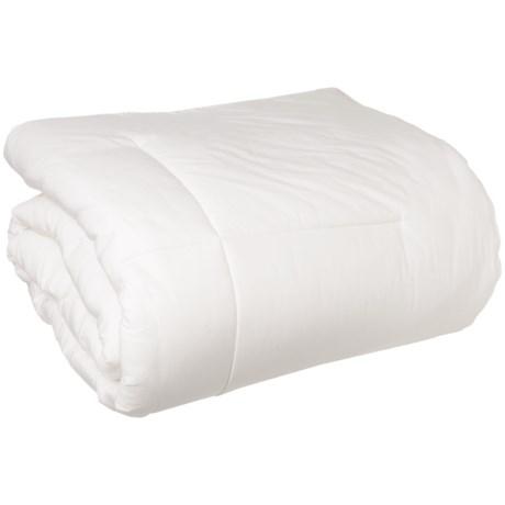 Welspun Hygrosoft Down Alternative Comforter - Twin in White