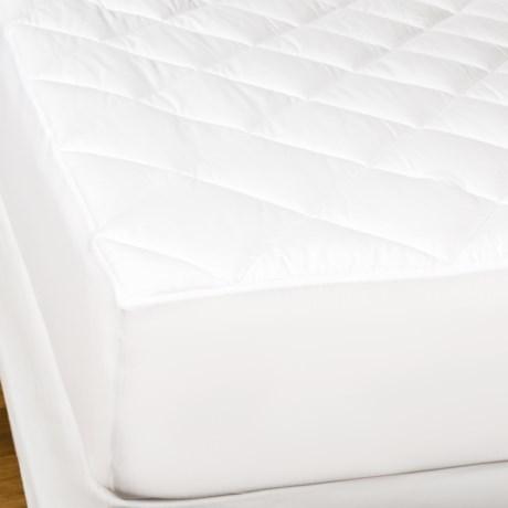 Welspun Hygrosoft Mattress Pad - Cal King, 300 TC in White