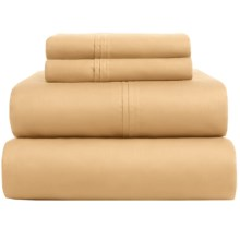 Welspun Perfect Touch Sheet Set - 625 TC, King in Honey - Closeouts