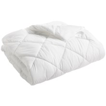 Welspun Sateen Dreams Down Alternative Comforter - Full, 233 TC in White - Overstock