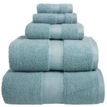 Welspun Wamsutta Duet Bath Sheet - Cotton in Glacier - Overstock