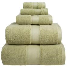 Welspun Wamsutta Duet Bath Towel - Cotton in Thyme - Overstock