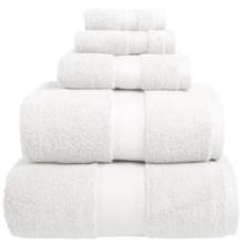 Welspun Wamsutta Duet Fingertip Towel - Cotton in White - Overstock
