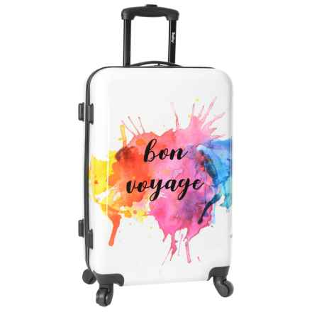 "Wembley 24"" Live It Up Hardside Spinner Suitcase in Bon Voyage - Closeouts"