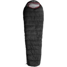 Wenger 30°F Averstal Down Sleeping Bag - 800 Fill Power, Long Mummy in Black - Closeouts