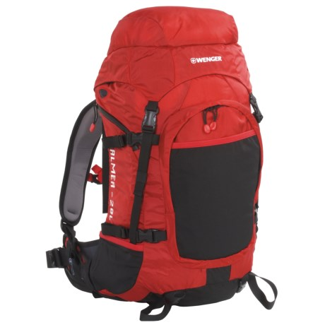 Wenger Almer Backpack - 20L in Black/Red
