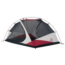 Wenger Alpina III Tent - 3-Person, 3-Season in Grey/Red/Black - Closeouts