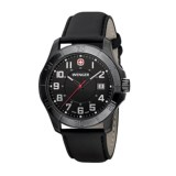 Wenger Alpine Analog Watch - 42mm, Leather Strap
