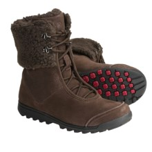 Wenger Cambridge Boots - Sherpa Lining (For Women) in Brown - Closeouts