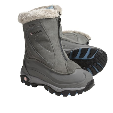 Wenger Copper Winter Boots - Waterproof, Insulated (For Women) in Grey