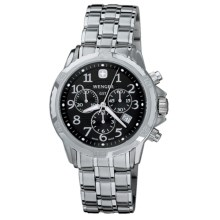 Wenger GST Chronograph Watch (For Men) in Black/Stainless Steel - Closeouts