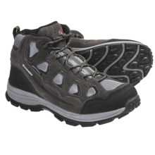 Wenger Jackson Hiking Boots - Waterproof (For Men) in Charcoal - Closeouts