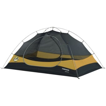 Wenger Jura 3 Tent with Footprint - 3-Person, 3-Season in Patagonia Yellow